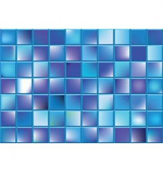 blue blocks vector image