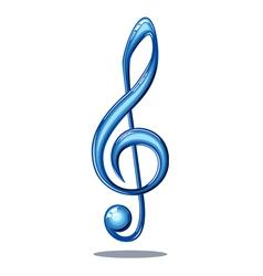 glossy music vector image