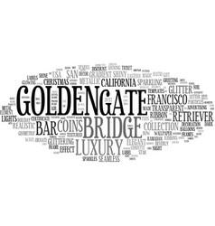 Golden word cloud concept vector