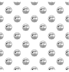Laundry service room pattern seamless vector