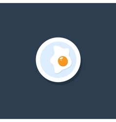 Omelette Icon vector image