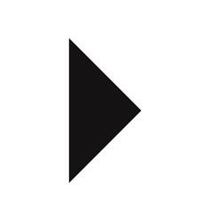 right arrow icon vector image