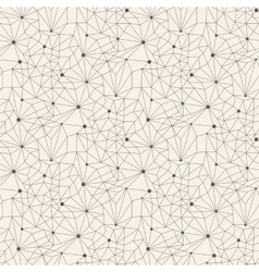 Seamless line abstract pattern tile background vector image