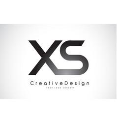 Xs x s letter logo design creative icon modern vector