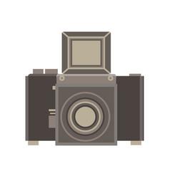 camera retro vintage old photography photo film vector image
