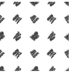 hand drawn coal strokes pattern vector image vector image