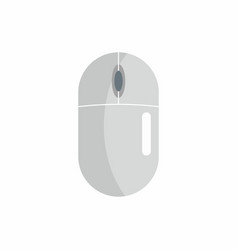 Flat hardware mouse icon for repair service desig vector