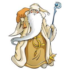Santa Claus vector image vector image