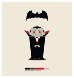 Vampire toy vector