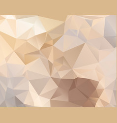Abstract polygonal background in pastel colors vector