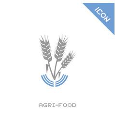 Agri food icon vector