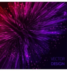 Bright pink and violet shining Abstract vector image