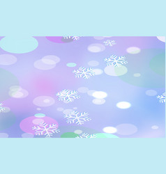Christmas chaotic blur for new years bokeh of vector