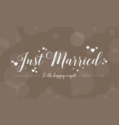 Collection of wedding greeting card style vector