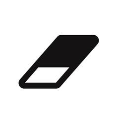 eraser icon vector image