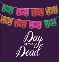 mexican day of the death vector image