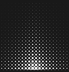monochrome abstract halftone circle pattern vector image