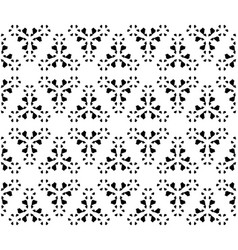 Monochrome geometric texture minimalist floral vector