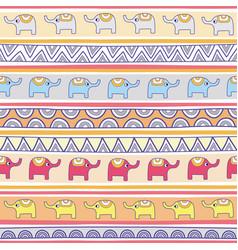 Seamless elephant pattern background1 vector