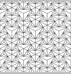 seamless polygonal pattern - geometric vector image