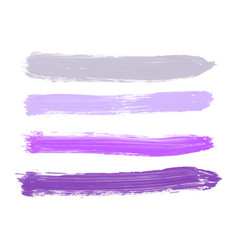 set of gray purple lilac lavender violet vector image