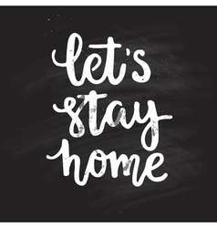 Typo StayHome7 vector