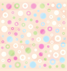 geometric points pattern vector image