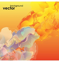 Abstract Smoky Flow Background vector