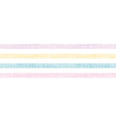Abstract textile colorful stripes horizontal vector image