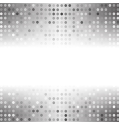 Dots on Gray Background vector