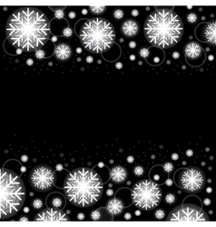 Glowing shiny christmas background eps10 vector image