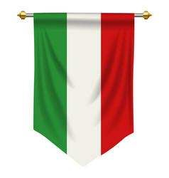 Italy pennant vector