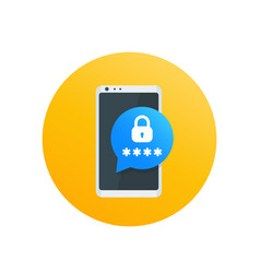 Mobile security password access authentication vector