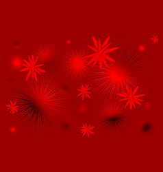 Red stars background vector