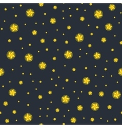 Stars seamless pattern for christmass vector