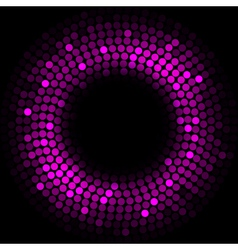 Purple lights - background vector image