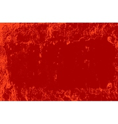Red Distressed Plate vector image vector image