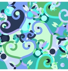 Abstract doodle seamless background vector image