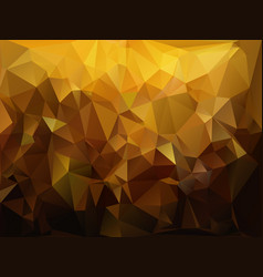 abstract geometric triangular background vector image