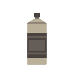 bottle water wine beer icon isolated white drink vector image