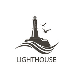 Image lighthouse vector