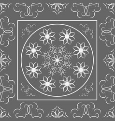 indian arabic turkish oriental mandala seamless vector image