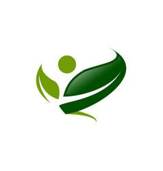logo concept design vector image