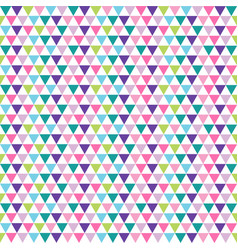 modern colorful abstract background with triangles vector image