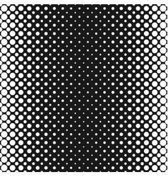 monochrome halftone dot pattern background vector image