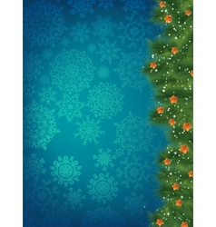 New year and cristmas card EPS 8 vector image