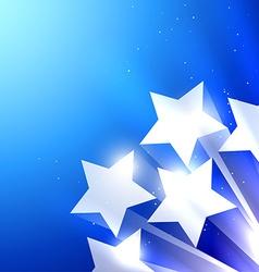 Shiny star background vector