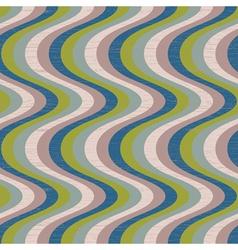 vintage waves vector image