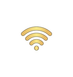 wireless zone computer symbol vector image vector image