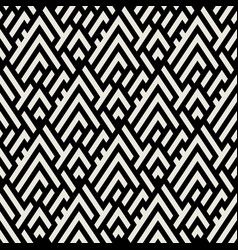Abstract geometric pattern with maze vector